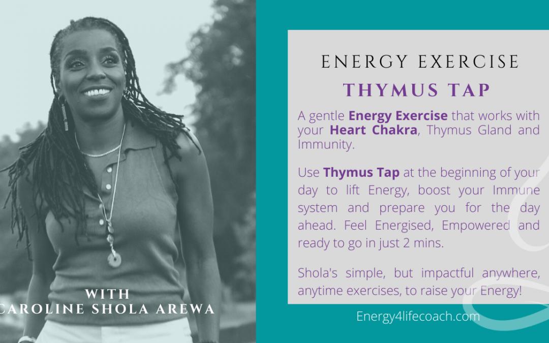 Thymus Gland -Energy Exercise - Shola Arewa