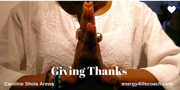 Giving Thanks! – My Birthday Attitude of Gratitude