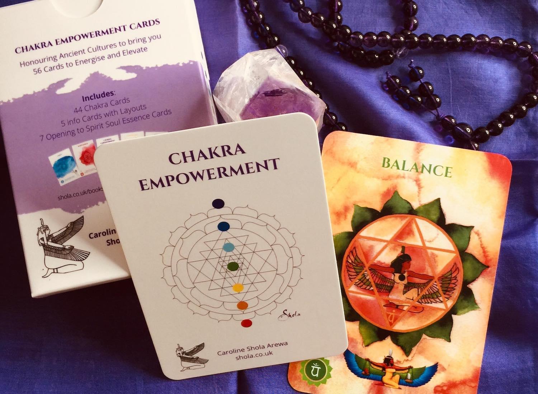 Chakra Balance Card